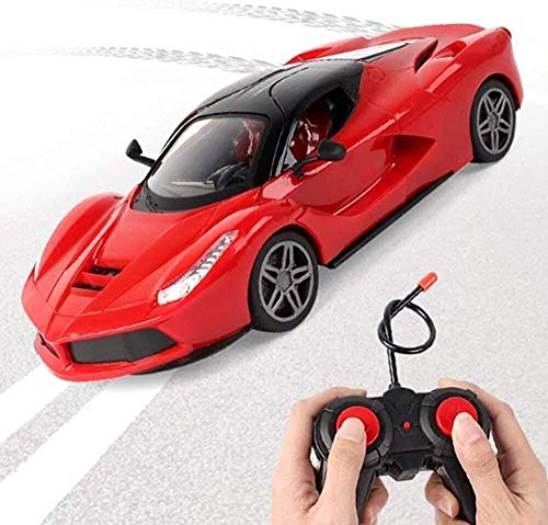 Grande taille, 4x4 Crawlers télécommande de voiture, haute vitesse Drift voiture de sport jouet, rechargeable avec LED Professional Racing Car Light peut-il ouvrir porte for enfants Garçons Filles Ann