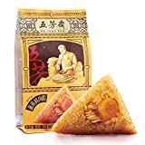 粽子 ちまき 五芳斋端午节粽子 蛋黄鲜肉粽 中华老字号 嘉兴特产280g(140g*2只)