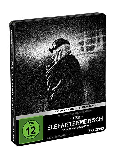 Der Elefantenmensch (4K Ultra HD Steelbook) [Blu-ray]