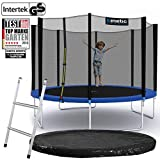 Kinetic Sports Outdoor Gartentrampolin Ø 335 cm, TPLS11, inklusive Sprungtuch aus USA PP-Mesh...