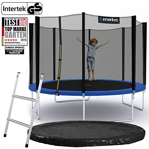 Kinetic Sports Gartentrampolin – ø 335 cm