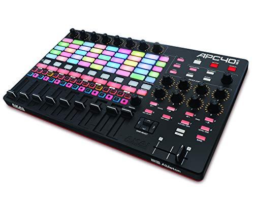 Akai Professional APC40 MKII - Controlador MIDI USB avanzado para un control total de Ableton Live, DAW e instrumentos virtuales, con paquete de Software