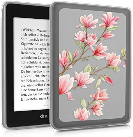 kwmobile Case Compatible with Amazon Kindle Paperwhite 10 Gen 2018 TPU Silicone eBook Cover product image