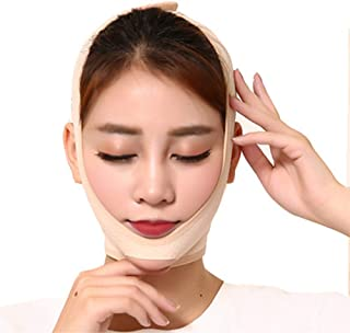 Slimming Cheek, V Face Line Slim Up Belt Strap, Natural Face Lift Against Double Chin Anti-Aging Face Slimming Face Bandage