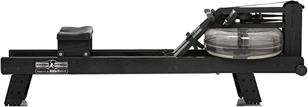 WaterRower Gronk Fitness Champion Hi Rise Water Rowing Machine | Special Edition Low Impact Cardio Workout Machine | Commercial Grade Water Rowing