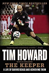best books written by athletes the keeper tim howard