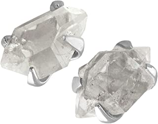 Herkimer Diamond Sterling Silver Post Earrings
