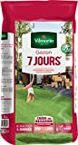 VILMORIN - Gazon 7 jours - Premières pousses dès 1 semaine - Pour créer un nouveau gazon/regarnir un gazon ancien - Installation ultra-rapide - Se sème toute l'année - 5 Kg