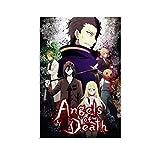TOUKUI Angels of Death Show Poster dekorative Malerei