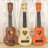 SODIAL Instrumento musical Mini ukelele Juguetes de guitarra para ninos Jugar un juego en escuela creativa Color aleatorio