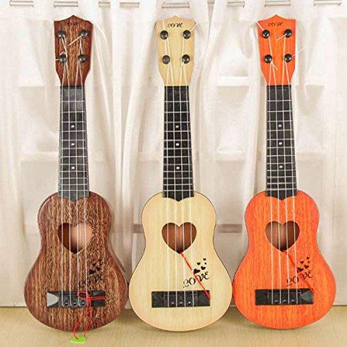 SODIAL Instrumento musical Mini ukelele Juguetes de guitarra para ninos Jugar un juego en...