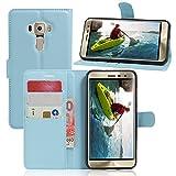 JARNING Compatible avec ASUS ZenFone 3 ZE520KL 5.2 inch Coque Housse PU Cuir Etui Portefeuille Flip...