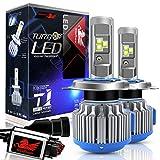 WinPower - H4 (P43t) - Kit di conversione lampadine LED CREE a LED con Canbus - Hi/Lo 80W 7200Lm 6000K bianco xenon - 2 Pezzi