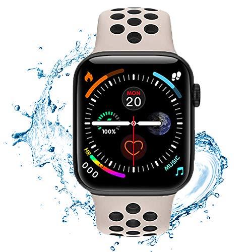 Hiyon9 Smartwatch, Fitness Tracker mit Blutdruckmessung Fitness Armbanduhr mit Pulsuhr Schlafmonitor IP67 Wasserdicht Sportuhr Schrittzähler für Android und iOS Smart Watch für Damen Herren