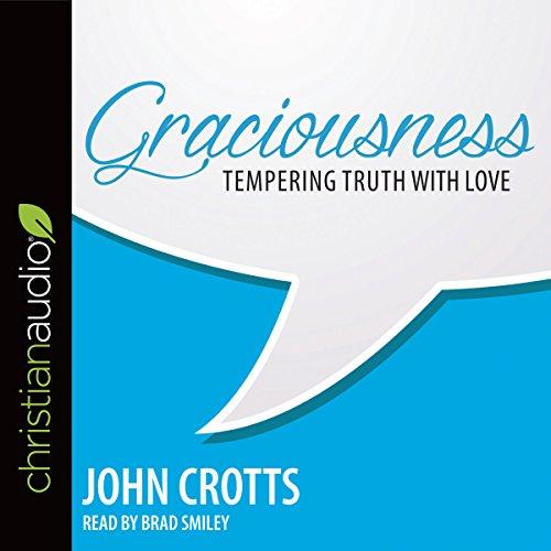 Graciousness audiobook cover art