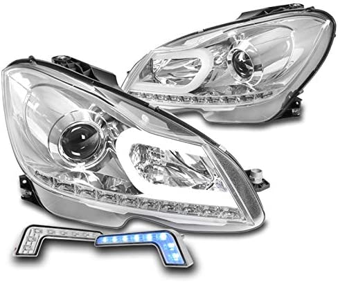 ZMAUTOPARTS LED Tube High quality new Projector Headlights Chrome w Cheap super special price DR Blue 6.25