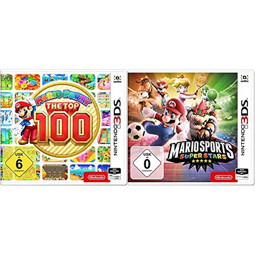 Mario Party: The Top 100 - [Nintendo 3DS] & Mario Sports Superstars - [3DS]