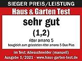 ritter Allesschneider amano 5, manueller Allesschneider mit leichtgängiger Handkurbel, made in Germany, silbermetallic - 8