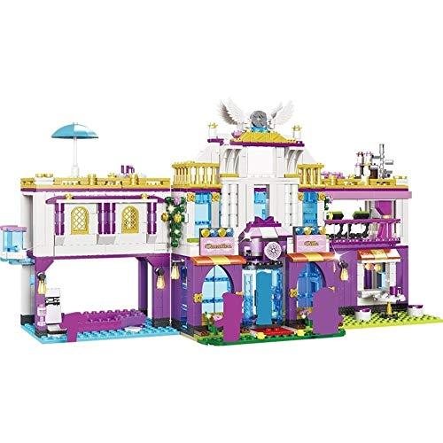 JKMQA Nuevo 961 UNIDS Bloques de construcción de Villas de Lujo Privado Compatible Legoerys Amigos Castillo Ladrillos Chicas Princesa House Juguetes para niñas