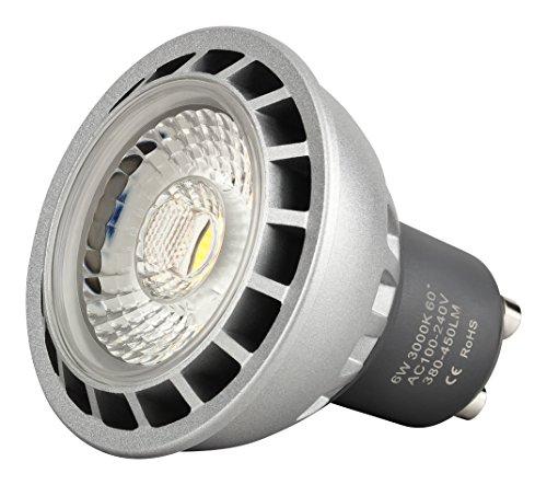 6 Watt I-Lumen® LED Spots GU10 -DIMMBAR- 500 LUMEN Strahler warmweiß -Greenline-