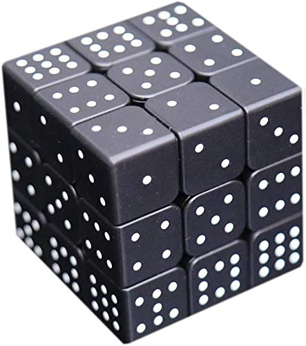 Blind speed kubussen, 3D stereo vingerafdruk Braille Rubik Cube 3x3 reliëf gepersonaliseerde puzzels voor kinderen - Pandora's Box,A