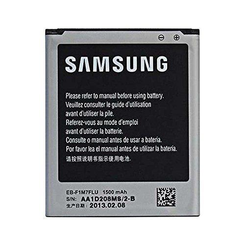 SAMSUNG GALAXY S3 MINI i8190 Originale Autentico Samsung batteria EB-L1M7FLU 1500 mAh 3.8V (NON - Confezione di vendita al dettaglio - Blocco confezionato) da GADGET BOXX
