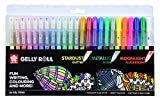 SAKURA Gelly Roll Set of 24 Gel Pens, Stardust - Metallic - Moonlight