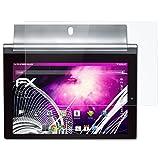 atFoliX Lámina Protectora de plástico Cristal Compatible con Lenovo Yoga Tablet 2-8 Película Vidrio, 9H Hybrid-Glass FX Protector Pantalla Vidrio Templado de plástico