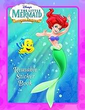 The Little Mermaid (Disney Princess) (Reusable Sticker Book)