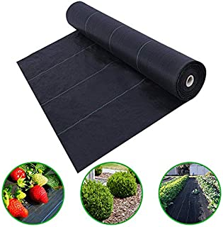 Agfabric Landscape Ground Cover 4x100ft Plastic Mulch Weed Block