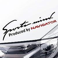 車のステッカー 繊細 デカール フルボディ カー サイド ステッカーFor Lincoln Navigator