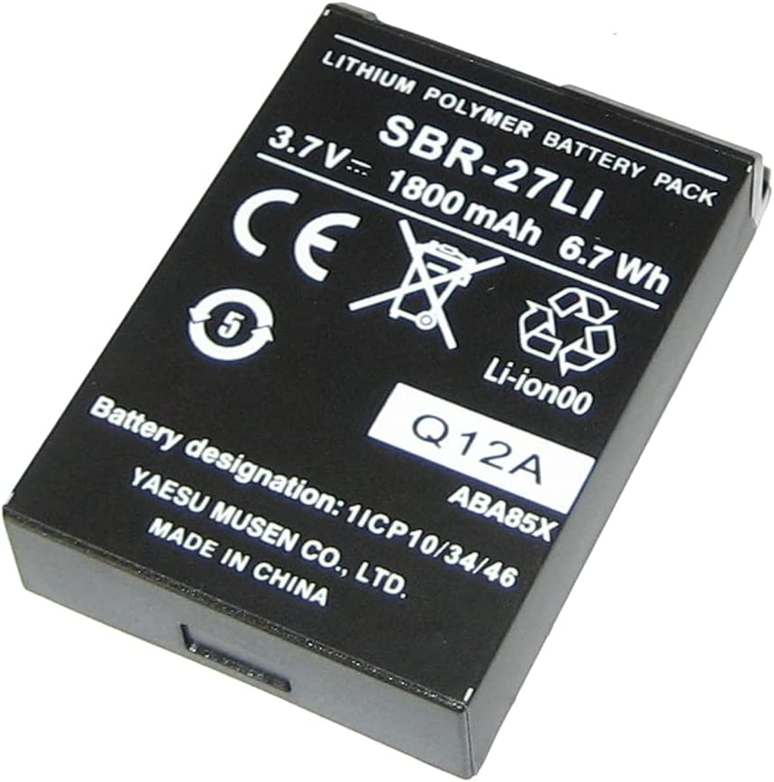 Max 54% OFF Standard Horizon Replacement Lithium Inventory cleanup selling sale Ion HX300 Battery f Pack