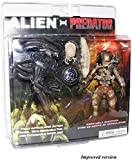 XXSDDM-WJ Regalo Figura de acción Exclusiva 2 Pack Alien Vs. Depredador ERJ246...