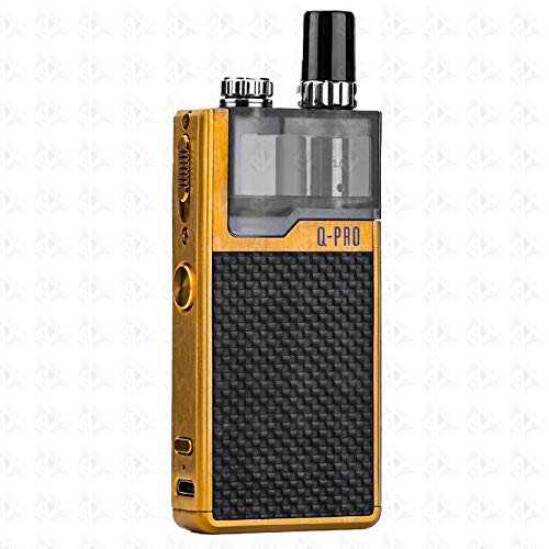Orion Q Pro Pod System | Lost Vape | Authentic | No Nicotione (Gold Black Weave)