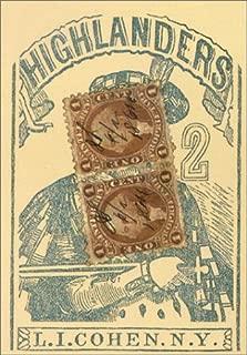 U.S. Games Systems Highlander's 1864 Poker Cards Replica