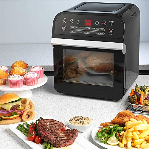 Intelligent Air Fryer New Oil-Free Electric Visualized Thuis Fruit Dryer Multi-Function Household Oven Volautomatische