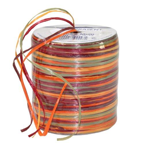 Pressent knutselband, meerkleurig, 50 m spoel