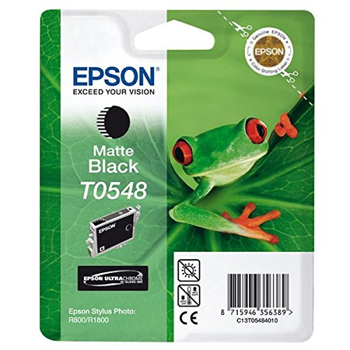 Epson T0548 Tintenpatrone Frosch, Singlepack matt schwarz