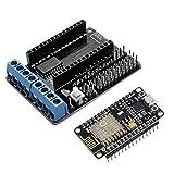 DollaTek ESP8266 ESP-12E CP2102 Entwicklungsboard und L293D WiFi Motor Drive Erweiterungskarte Schild Modul für Arduino