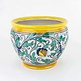Zoom IMG-1 porta vaso cachepot in ceramica