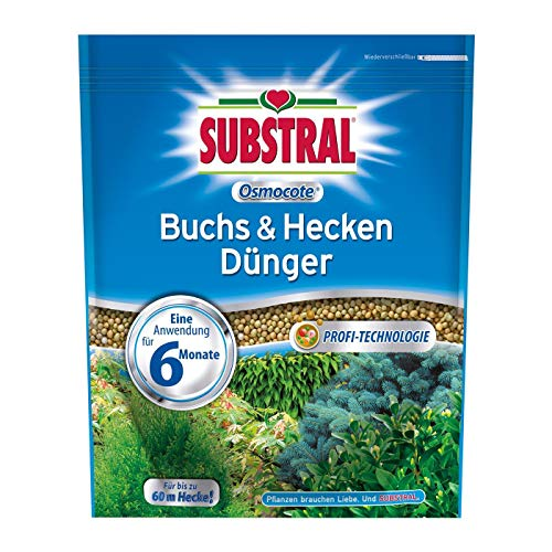 Substral Osmocote Buchs & Hecken Dünger - 3 x 1,5 kg