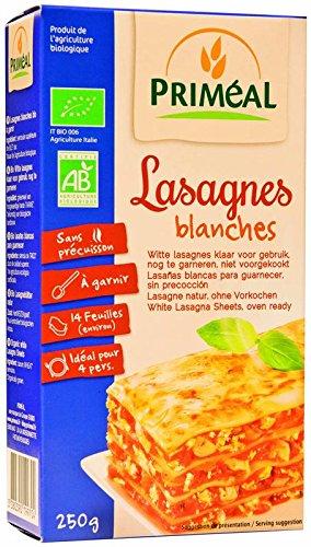 Priméal - BIO - Pâte Lasagnes Blanches 250 g