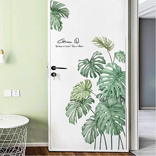Plant Koelkast Stickers Woonkamer Veranda Wanddecoratie Kamer Indeling Zelfklevende PVC Kledingkast Stickers