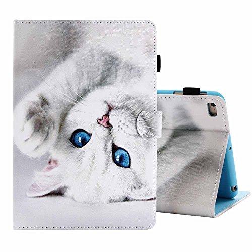 Billionn – Schutzhülle für iPad Mini 4/Mini 3/Mini 2/Mini 1 – Leicht, sehr dünn, aus PU-Kunstleder mit süßem Muster, mit Auto-Sleep-/Wake-Funktion