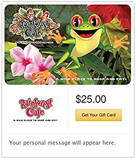 Rainforest Cafe - E-mail Delivery
