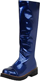 Zanpa Women Fashion Mid Boots Zipper