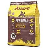 JOSERA Saco de comida para Perro - Festival, 900 g, Perro