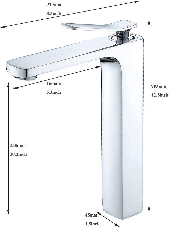 MulFaucet wasserhahn armatur hahn Wasserleitung Faucet alles Kupfer Chrom Waschbecken hei und kalt Waschbecken Waschbecken Badezimmerschrank