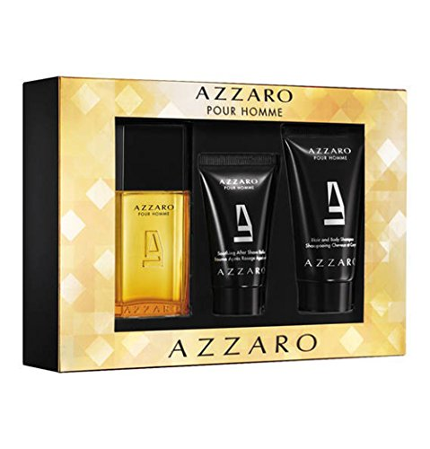 AZZARO POUR HOMME REISEKIT (EDT SPRAY 30 + Aftershave Balsam 30ml in TUBE + H & B 50)