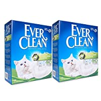 EXTRA STRONG CLUMPING CAT LITTER SCENTED: Special enhanced clumping crystals formulation that reduces crumbling making extra strong clumps that are easier to remove. Lightweight materials used for petsafe. Miracle cleaning system that keeps your prec...